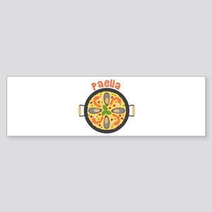 Paella Bumper Sticker
